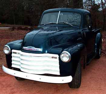 jeff bryant 39 s 1953 chevy 1 2 ton a stovebolt in south carolina. Black Bedroom Furniture Sets. Home Design Ideas