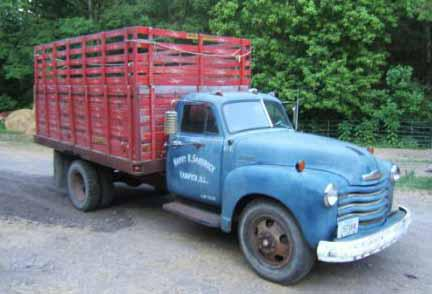 Chevy C70 Grain Trucks