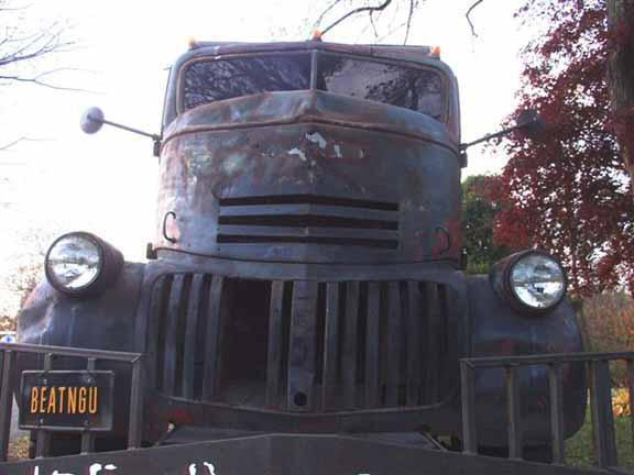 Tim Glace's 1941 Chevy COE -- An old truck from the movies