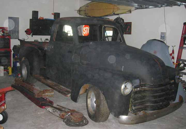1950 chevy truck s10 frame swap Car Tuning