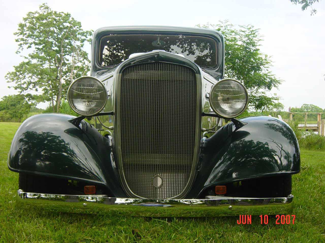 Ray Travis' 1936 Chevy 1/2-Ton