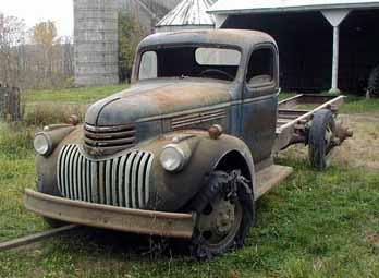 Wright joe 1946 01 also 1952 Chevy Truck Ifs Day 1 Remove The Front Clip And as well 1951 Ford F1 Pick Up further Thumb12 webshots   t 68 168 5 53 10 2142553100077698672RWcliR th further 1954 Gmc Panel Truck. on 1946 chevy truck front clip