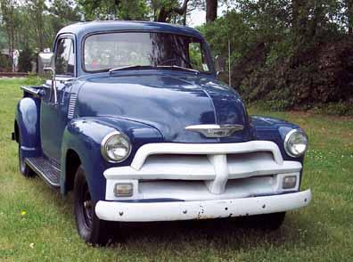 Chris Yarbrough S 1955 First Series Chevy 3100 Pickup